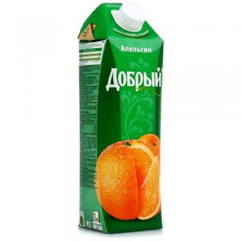 """Сок """"Добрый"""" апельсин 1л"""