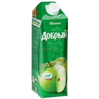 """Сок """"Добрый"""" яблоко 1 л"""