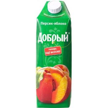 """Сок Добрый """"персик-яблоко"""" 1л"""